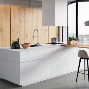 cocina formica blanco - muebles arranz
