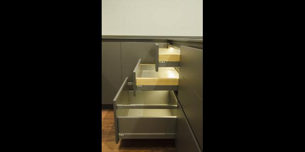 cajones y gavetas de cocina