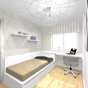 dormitorio juvenil -armario- siboney