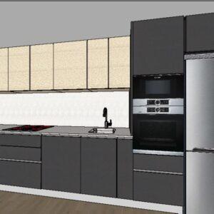 cocina formica fenix - teide